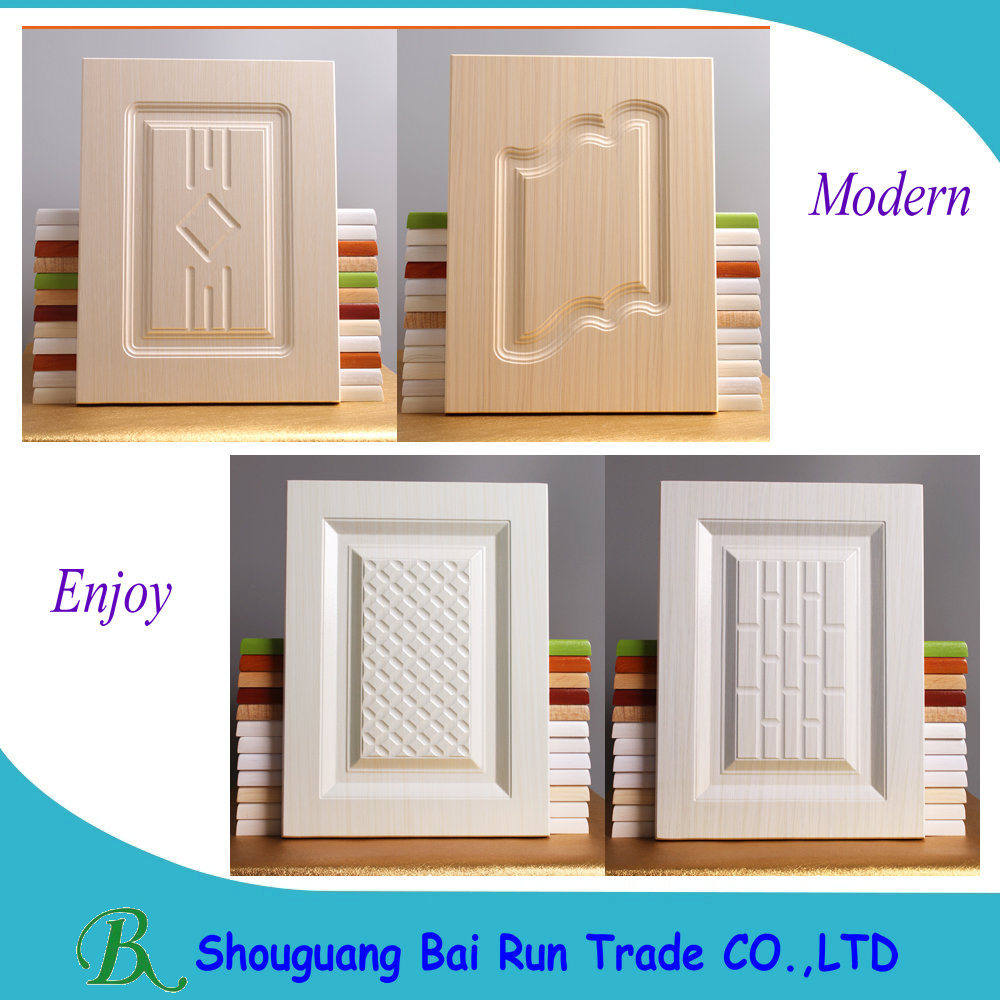 PVC Vacuum Kitchen Cabinet Door