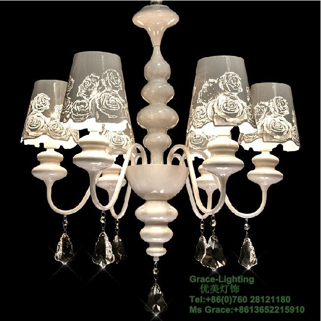High Quality Hotel Crystal Chandelier in Stock (GD-177-6)