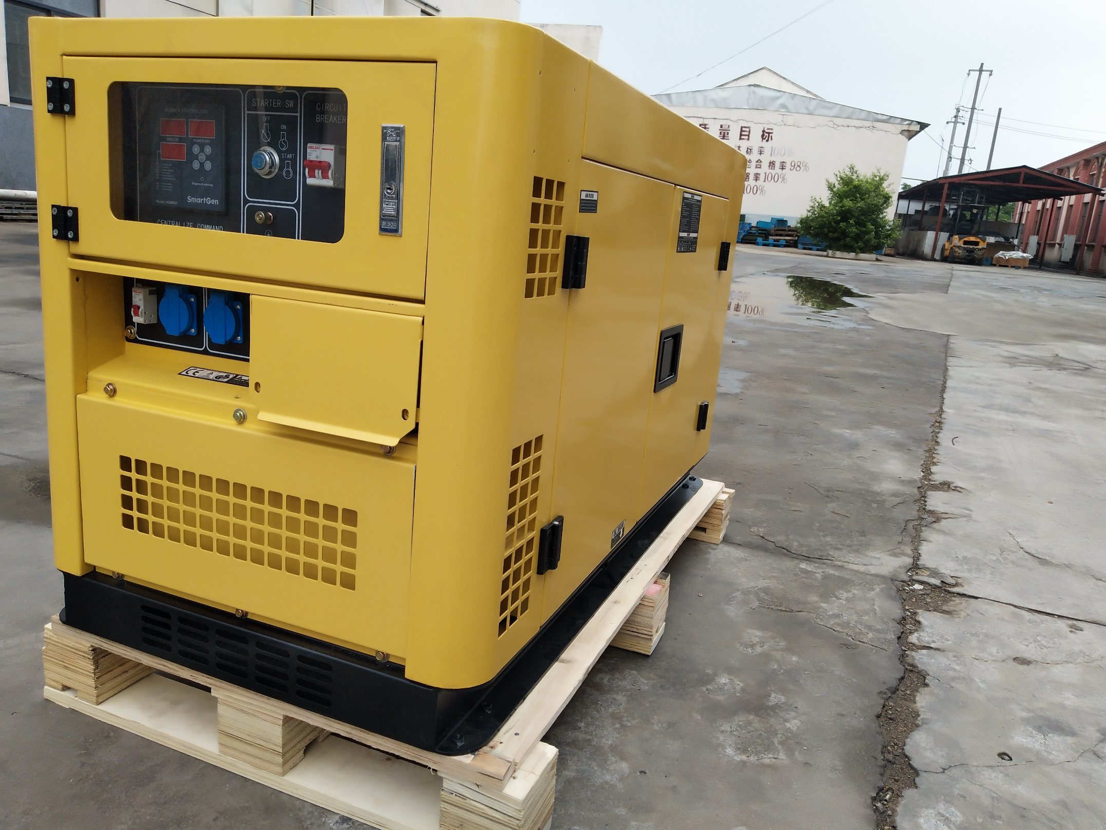 China 12kw Air Coolde Diesel Generator silent China L Twin