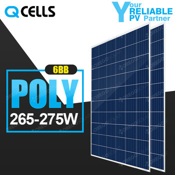 Q-Cells PV Solar Power Panel 270W 280W Cost