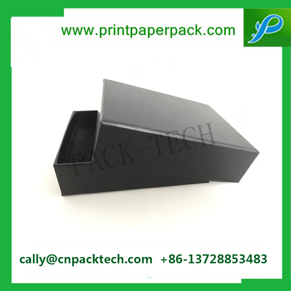 Custom Top & Bottom Lid Carton Packing Chocolate Confectionery Cake Shoes Box Wigs and Hair Product Packaging Kraft Cardboard Paper Jewelry Gift Box