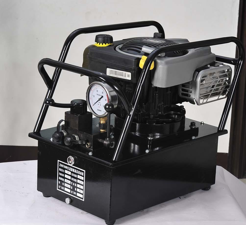 Gasoline Engine Driven Hydraulic Pump Hhb 160b