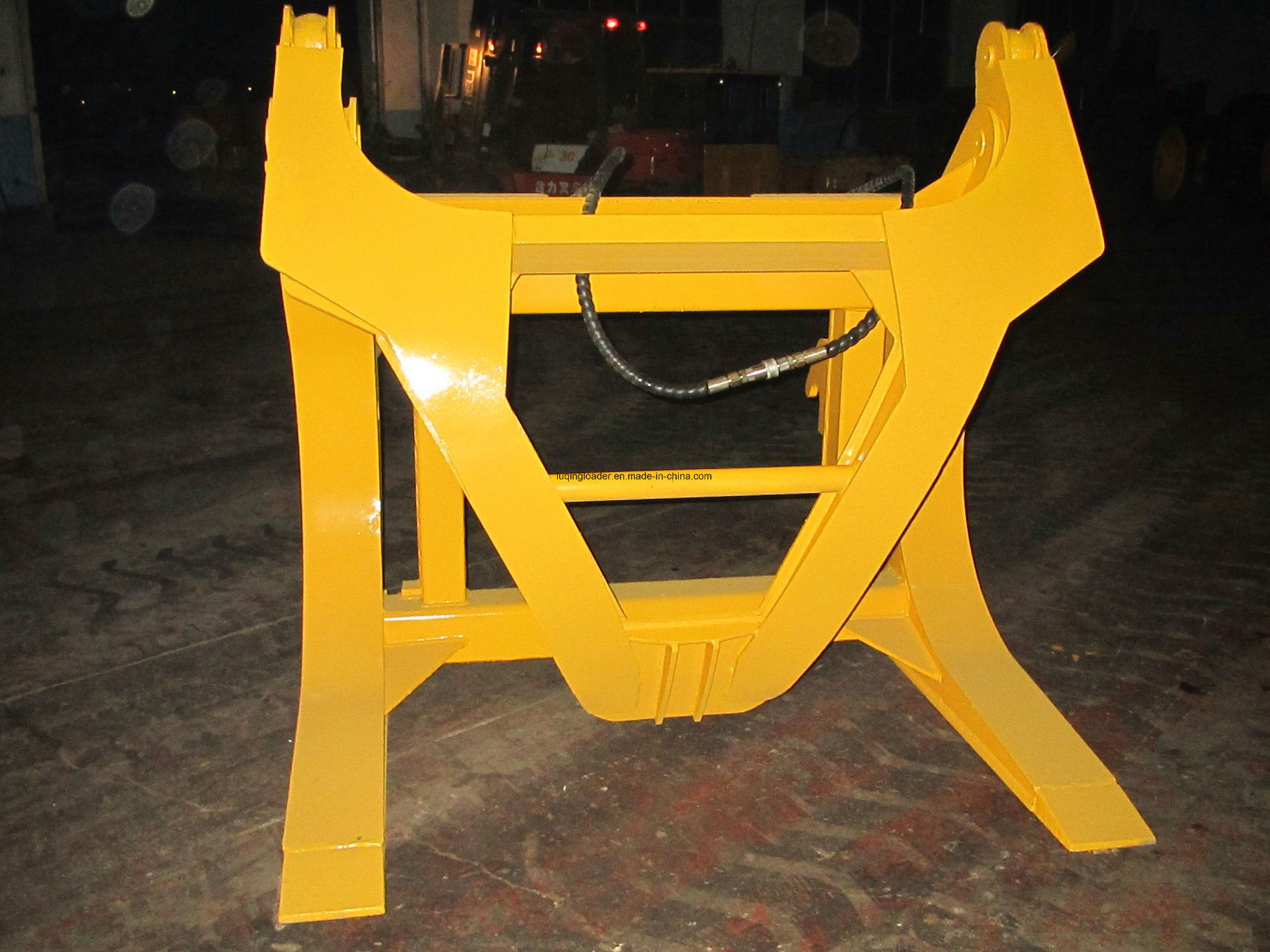 Log Clamp for Wheel Loader