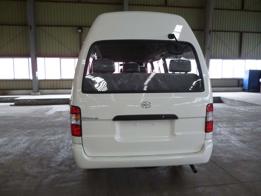 15 Seats Gasoline High Roof Minibus for Sale (GDQ6531A1)