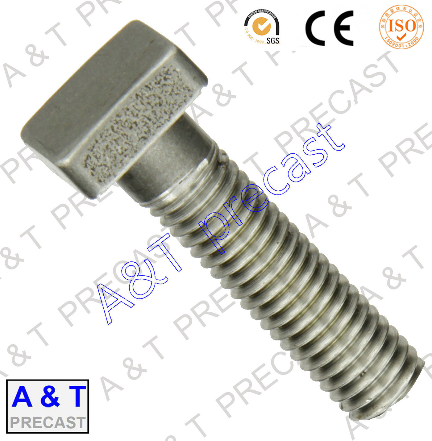 Customized/Special Shaped/T Head/Square Head Bolts (m16)