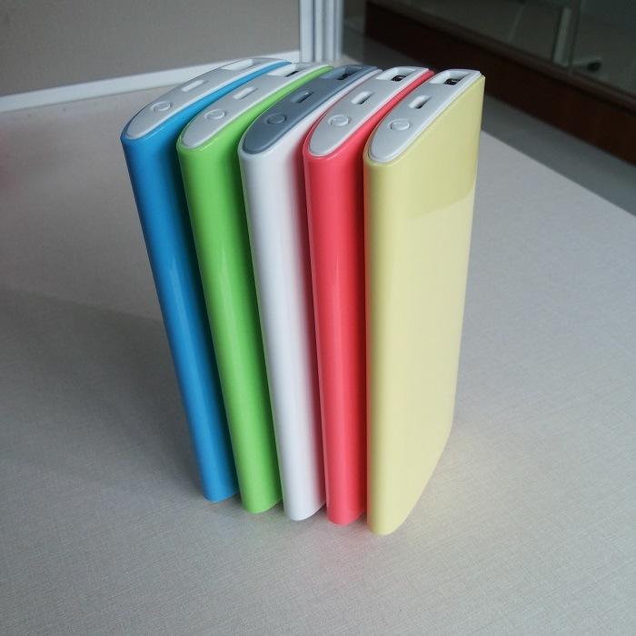 5400mAh Ultra Slim Mobile Lithium Polymer Battery Power Bank Supply for Mobile Phone/Tablet PC (PB-W0501)