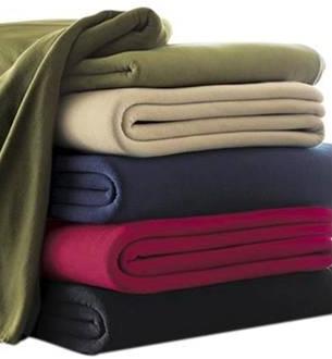 2017 Solid Color Polar Fleece Blanket Bedding Set