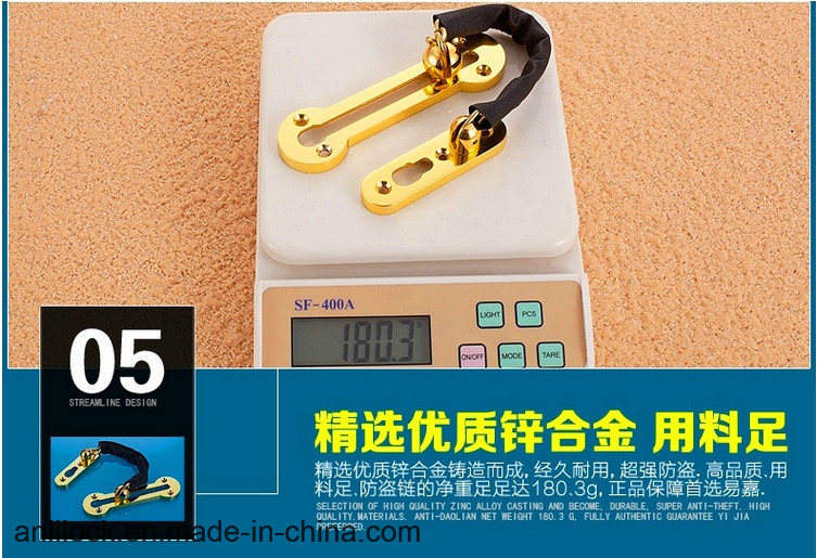 Door Chain, Safety Door Fastener, Hotlink Protection, Door Bolt Mechanism, Furniture Hardware, Al268