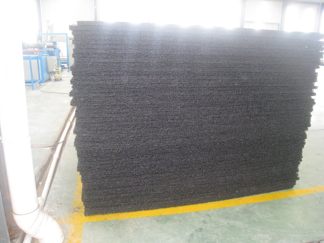 Reforcement Geomat with Gavalnized Wire Mesh