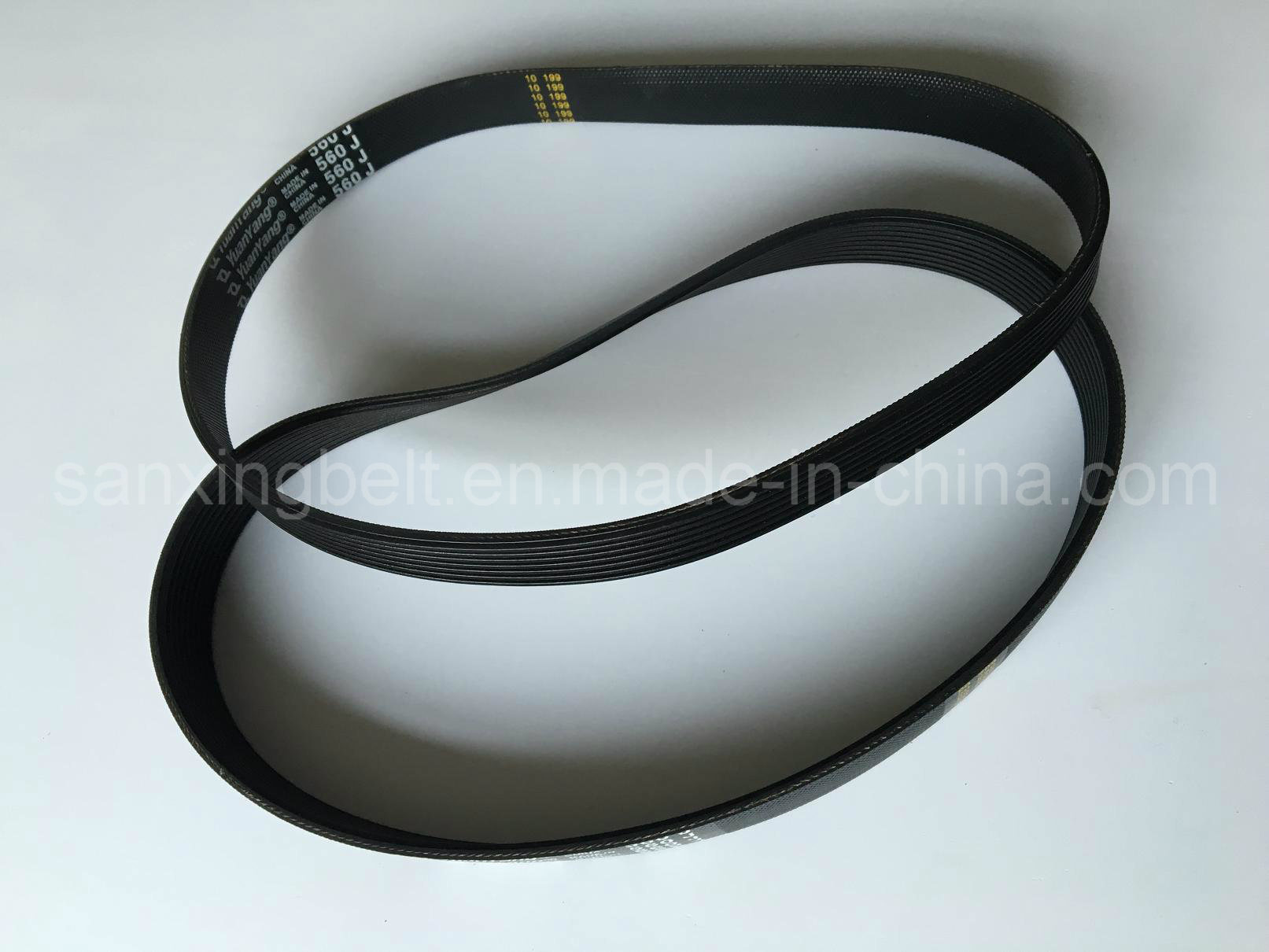 Elasic Poly V Belt for Roller Conveyor Transmission Machine