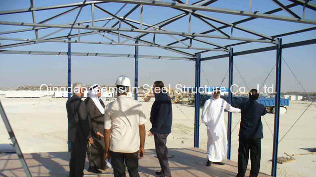Prefabricated Shed Steel Structure Warehouse (SL-0049)