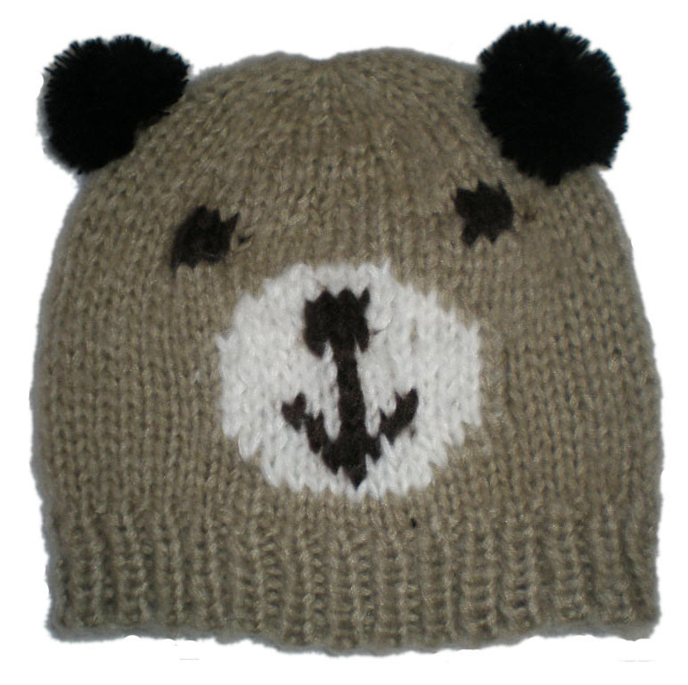 Animal Hat Knitting Patterns : Free Knitted Animal Hat Patterns For Kids