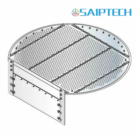 Sieve Tray with High Capacity and Lower Cost