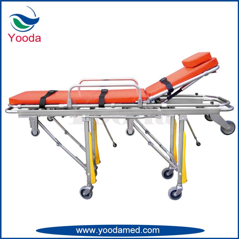 Full Auto Loading Aluminum Alloy Ambulance Stretcher