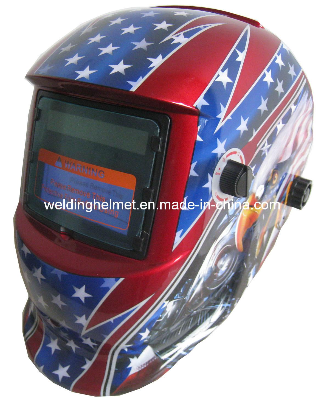 92*42mm/En379/ANSI Autodarkening Welding Helmet (E1190TC)
