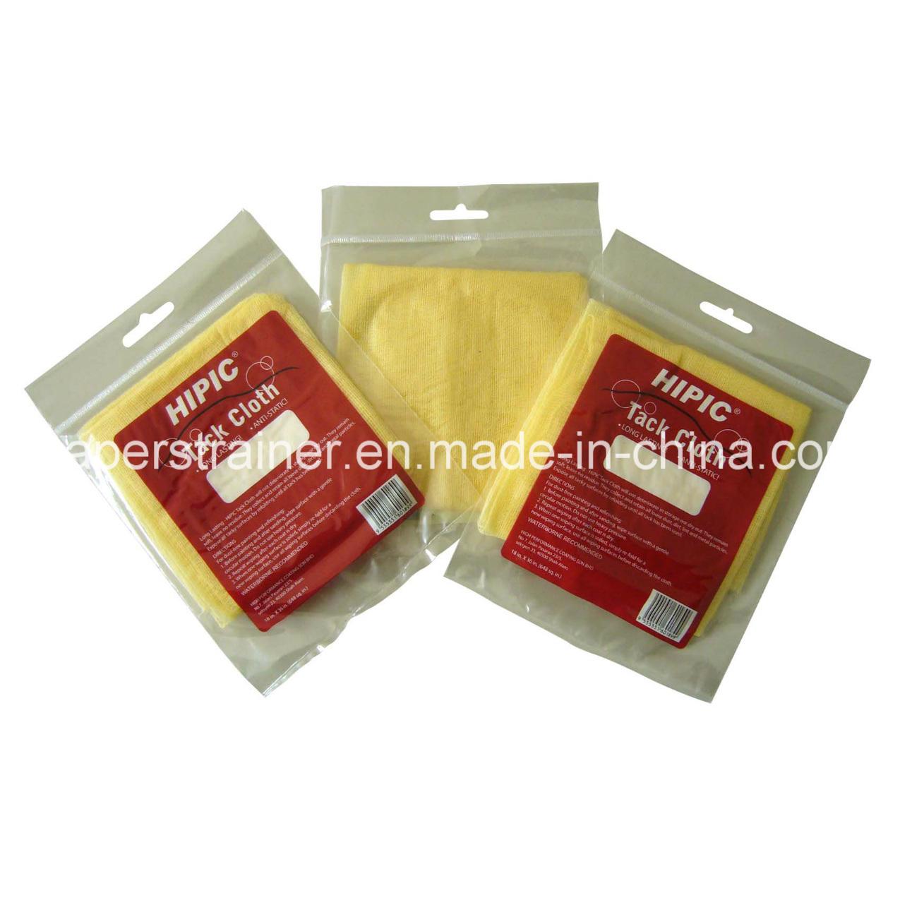 """High Quality Yellow Tack Cloth 18""""X36"""" (46X92cm)"""