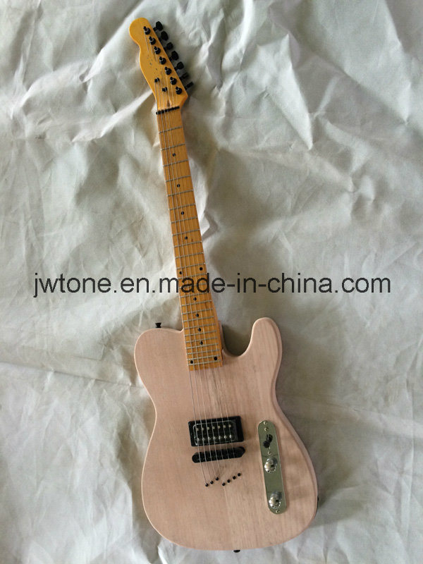 7 String Through Body OEM Tele Electric Guitar