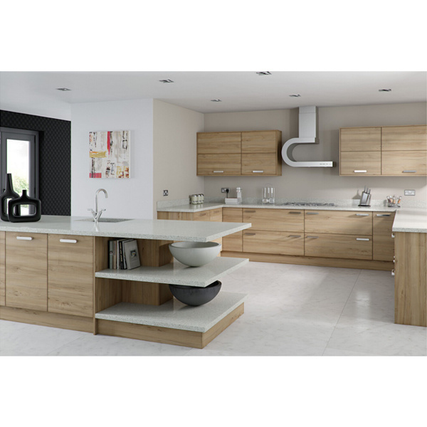 China 2016 american kitchen furniture classic solid wood for Harga kitchen cabinet 2016