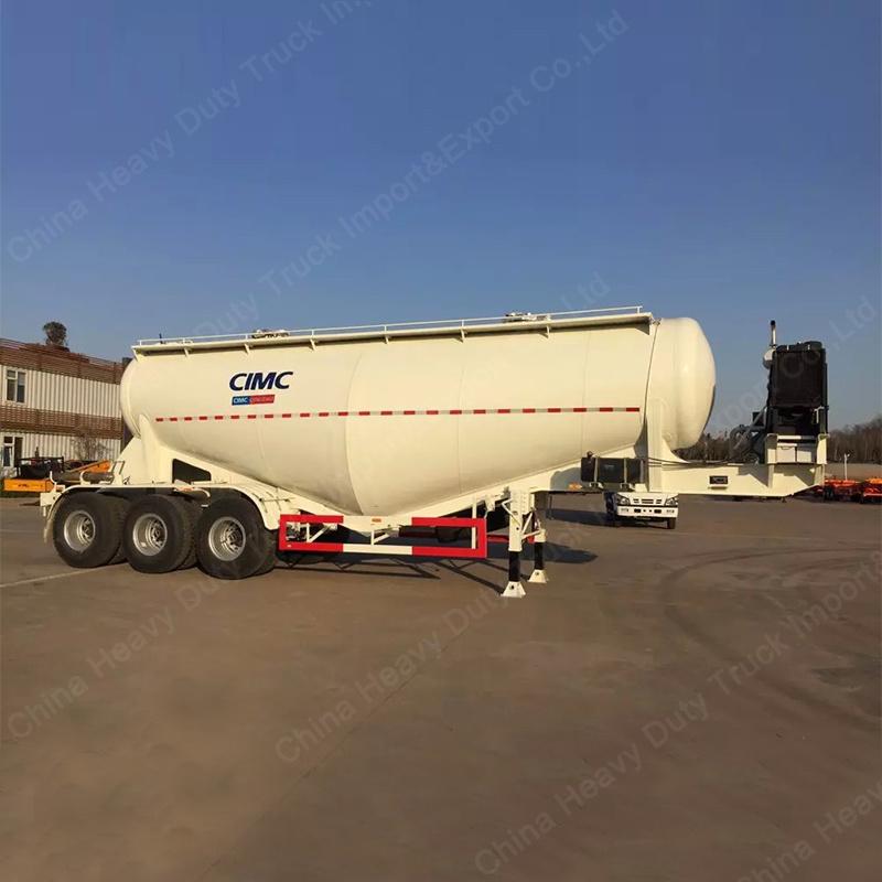 60m3 V Shape Cement Bulker/Bulk Cement Tanker Semi Truck Trailer