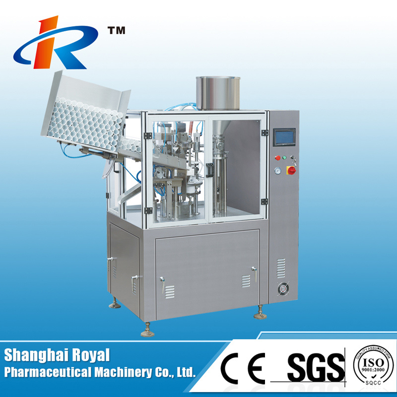 NF-60A Aluminum-Plastic Laminated Tube Filling and Sealing Machine