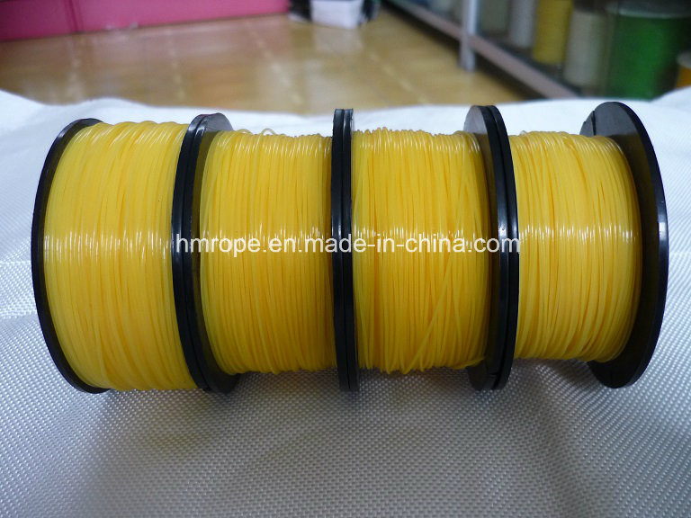 Nylon Bulding Line Monofilament-Single Ply Yellow Color
