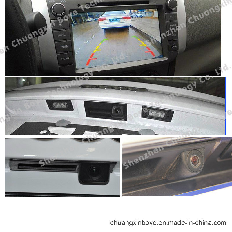 HD Hand Trunk Reverse Car Camera for Audi