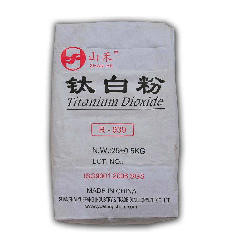 Titanium Dioxide Rutile (R-939) for Plastic