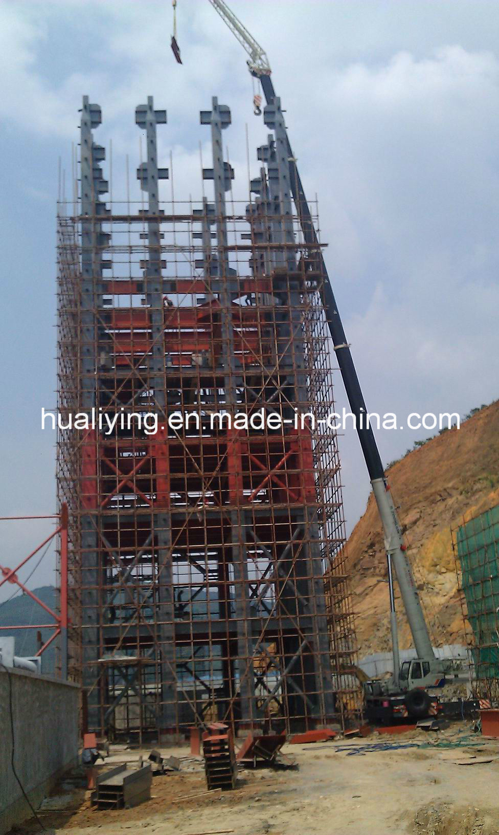 Industrial Structural Steel Multi-Storey Office Building From China
