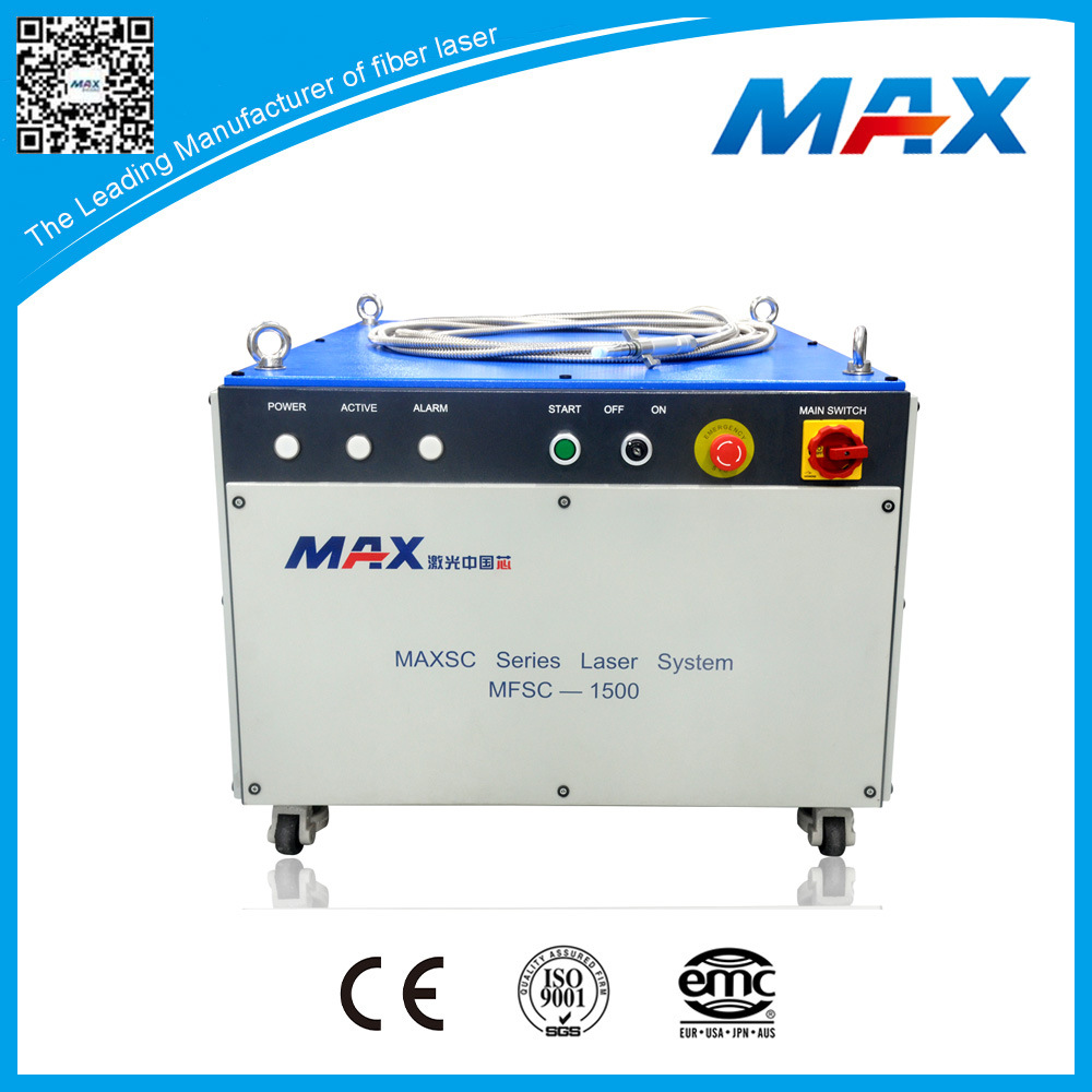 High Quality 1500W Single Mode Cw Fiber Laser for Cutting Machine