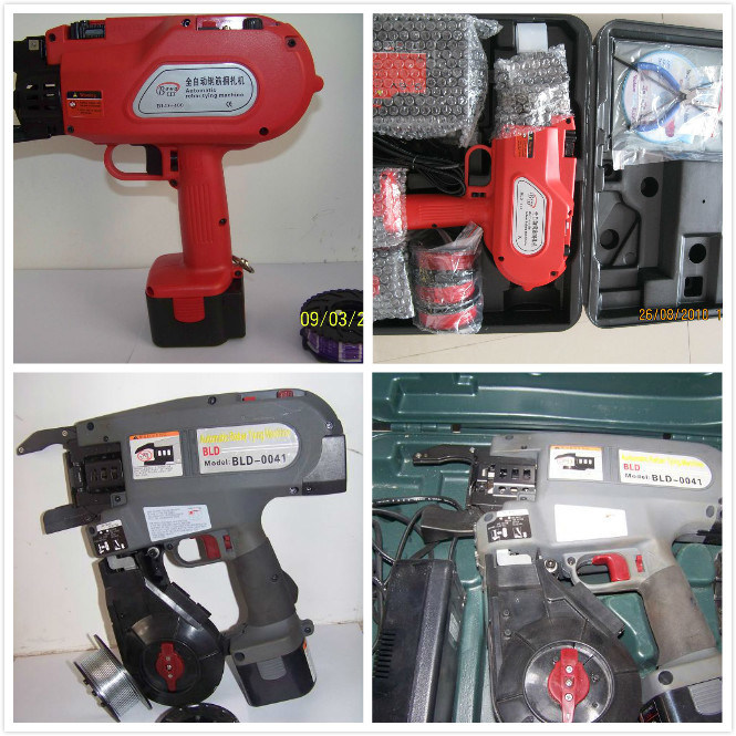Auto Steel Tying Machine/Electric Portable Steel Cutting Machine/Rebar Tying Gun