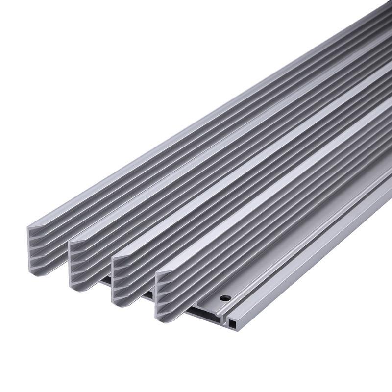Customized Aluminium/Aluminum Extrusion with CNC Machining & Surface Treatment