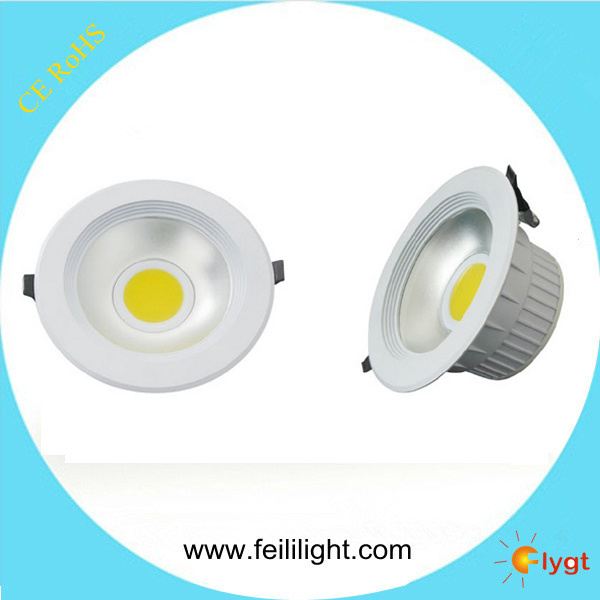High Quality Round COB 10W 20W 30W LED Down Light