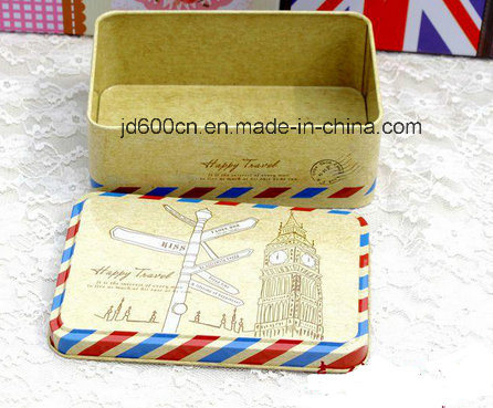 Delicate Wedding Tin Box Customized Accept