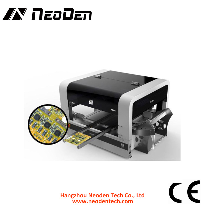 SMT Machine with Vision Camera (0201 BGA) Neoden 4, Desktop Pick and Place Machine for PCBA