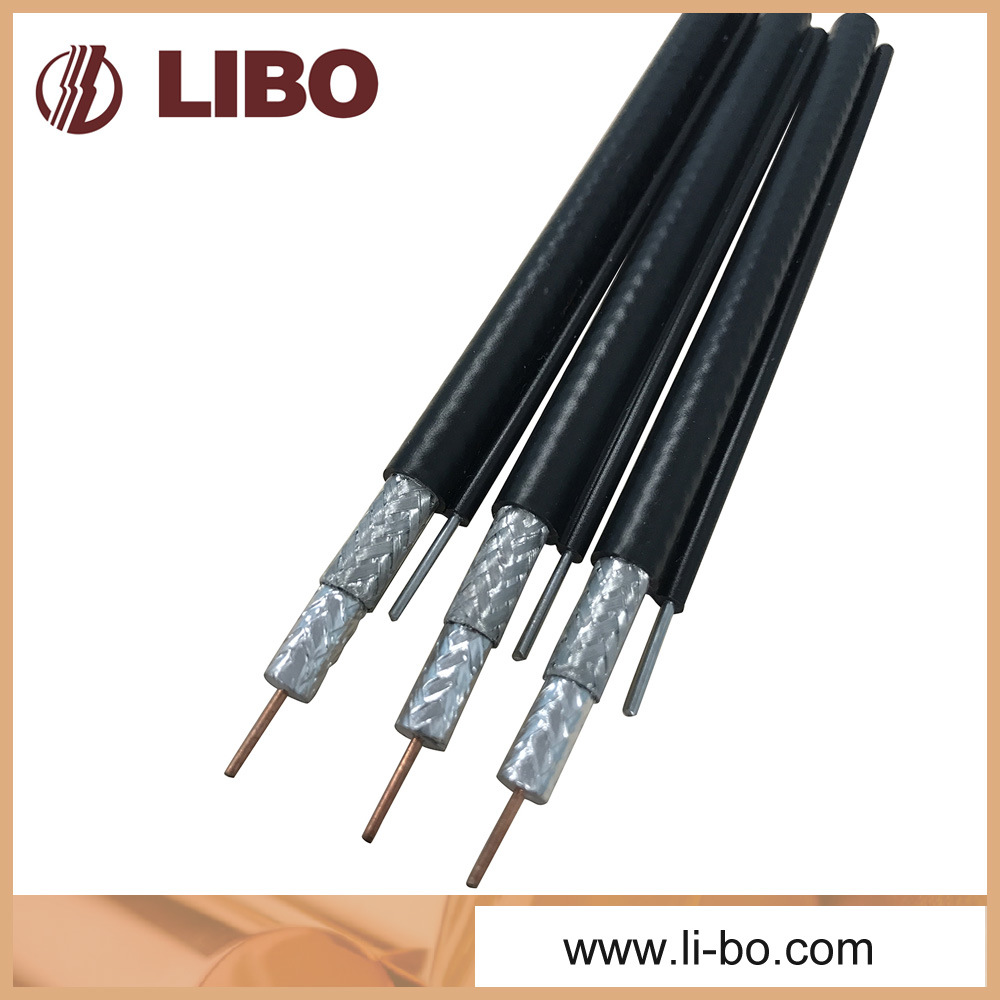 75 Ohm RG6 Coaxial Cable with PVC Jacket for CATV CCTV System