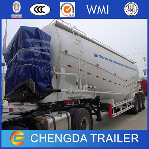 30-60tons Bulk Cement Transport Tank for UAE