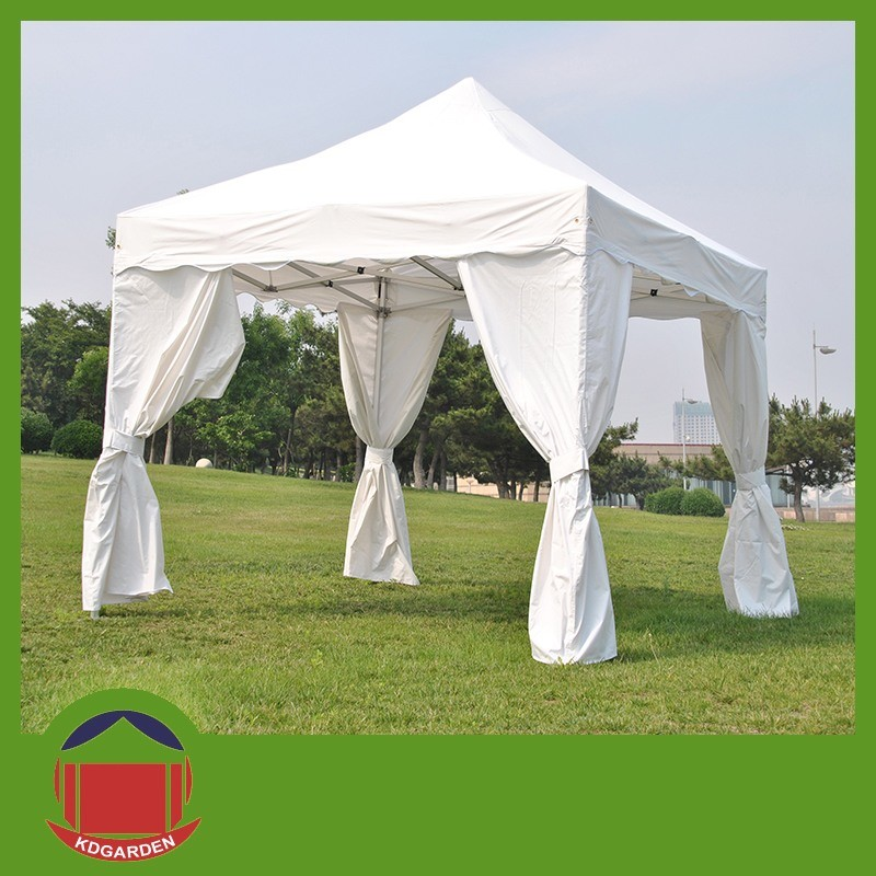 10X10FT White Color Folding Gazebo Tent for Outdoor Advertisement