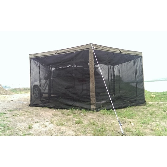 Equipment Campers Hot Sale RV Awning with Alu Alloy Connectors