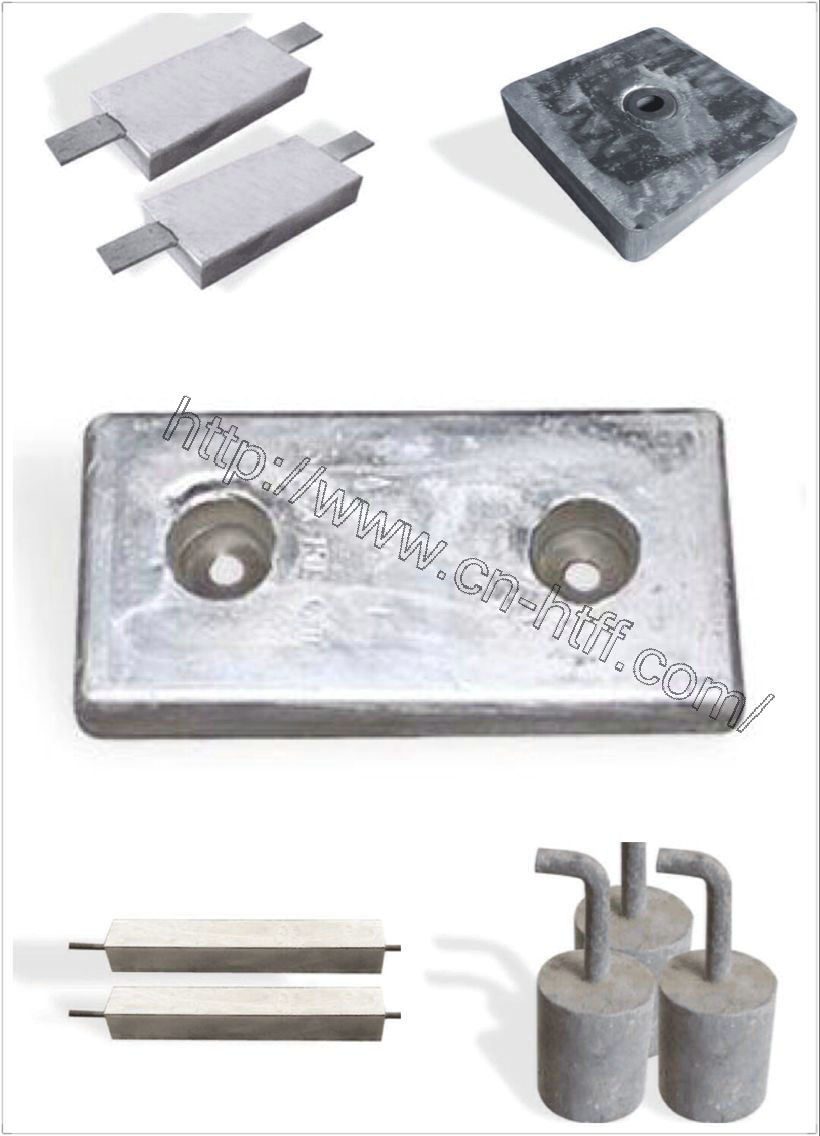 Use for Ship Sacrificial Zinc Anode