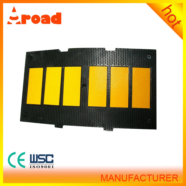 Yellow Jacket Black Rubber Speed Hump