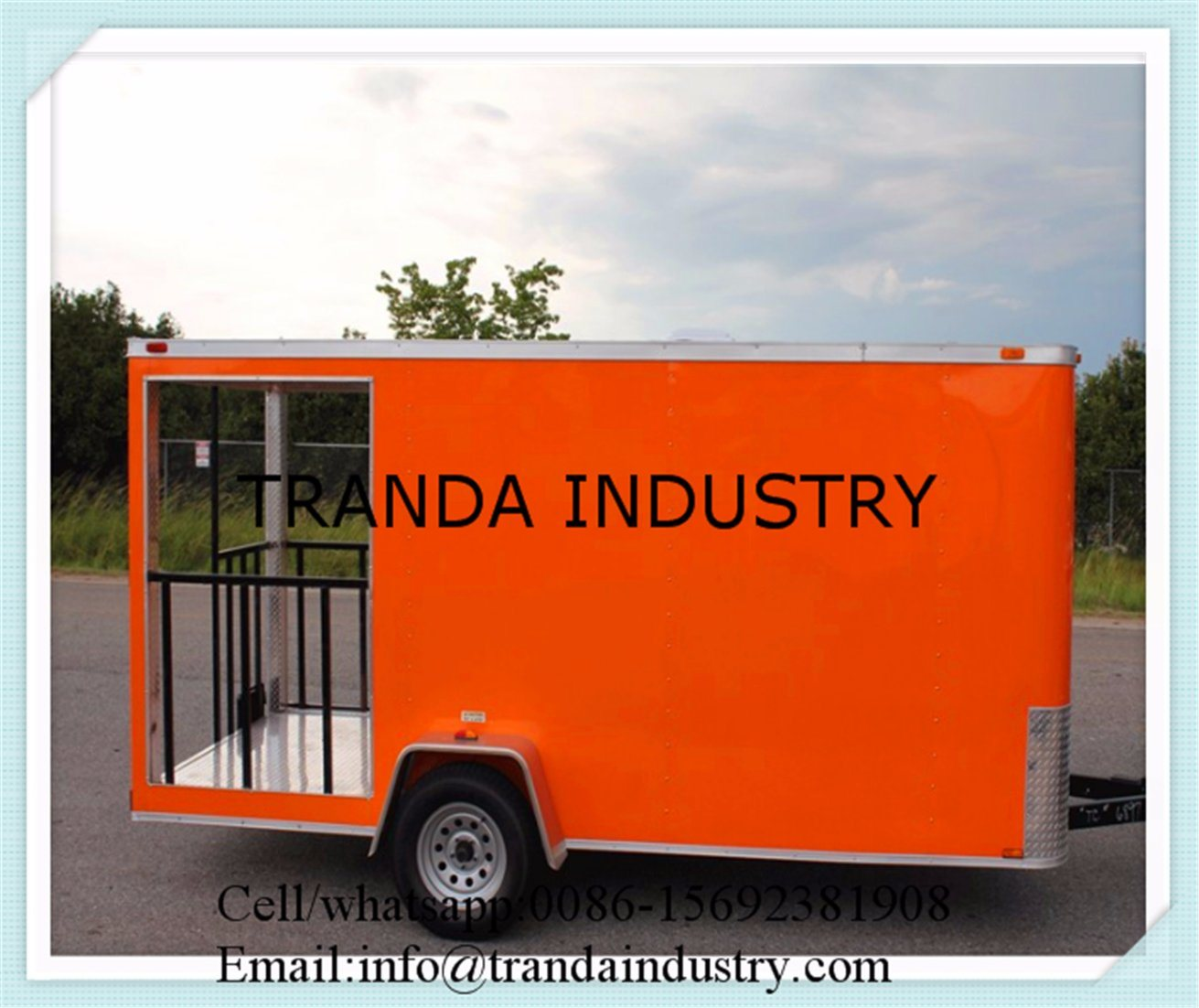 2015 Hot Sales Best Quality Food Cart for Austrlia Standardfood Cart for Sales Food Cart for USA Standard