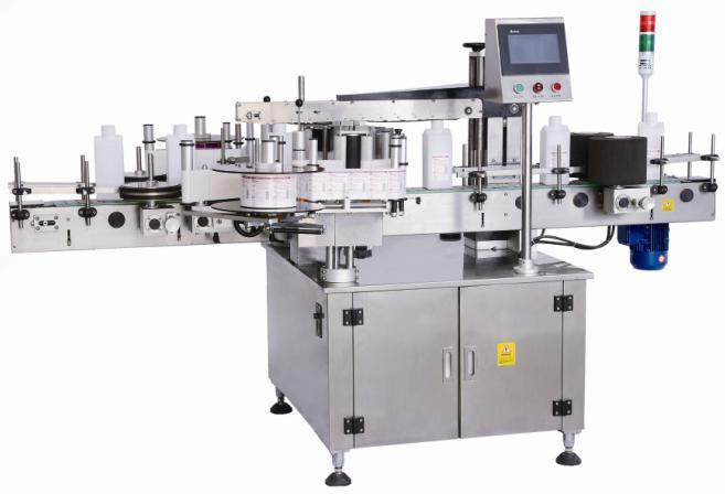 Double Sides Labeling Machine, Front and Back Side Labeling Machine