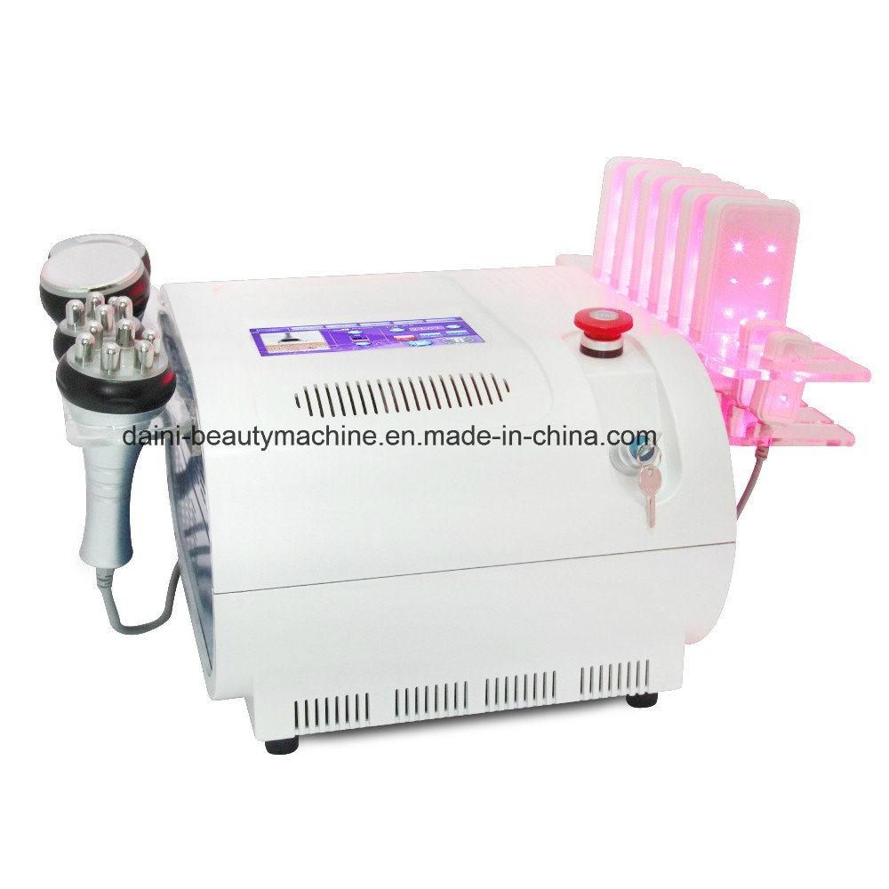 5in1 Fat Cavitation Vacuum RF Bipolar Tripolar Multipolar Slimming Beauty Machine