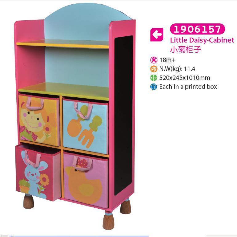 Wooden Cabinet Storage Cabinet for Kids for Children