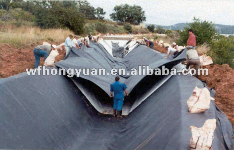 EPDM Waterproof Membrane for Artificial Landscape Pond