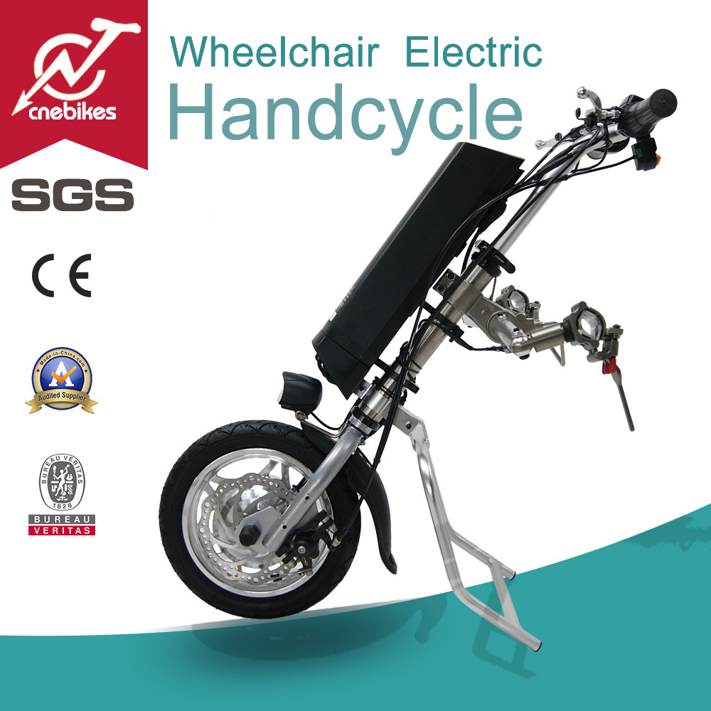 Cn Ebikes 12 Inch Electric Attachable Wheelchair Handcycle Motor Kit