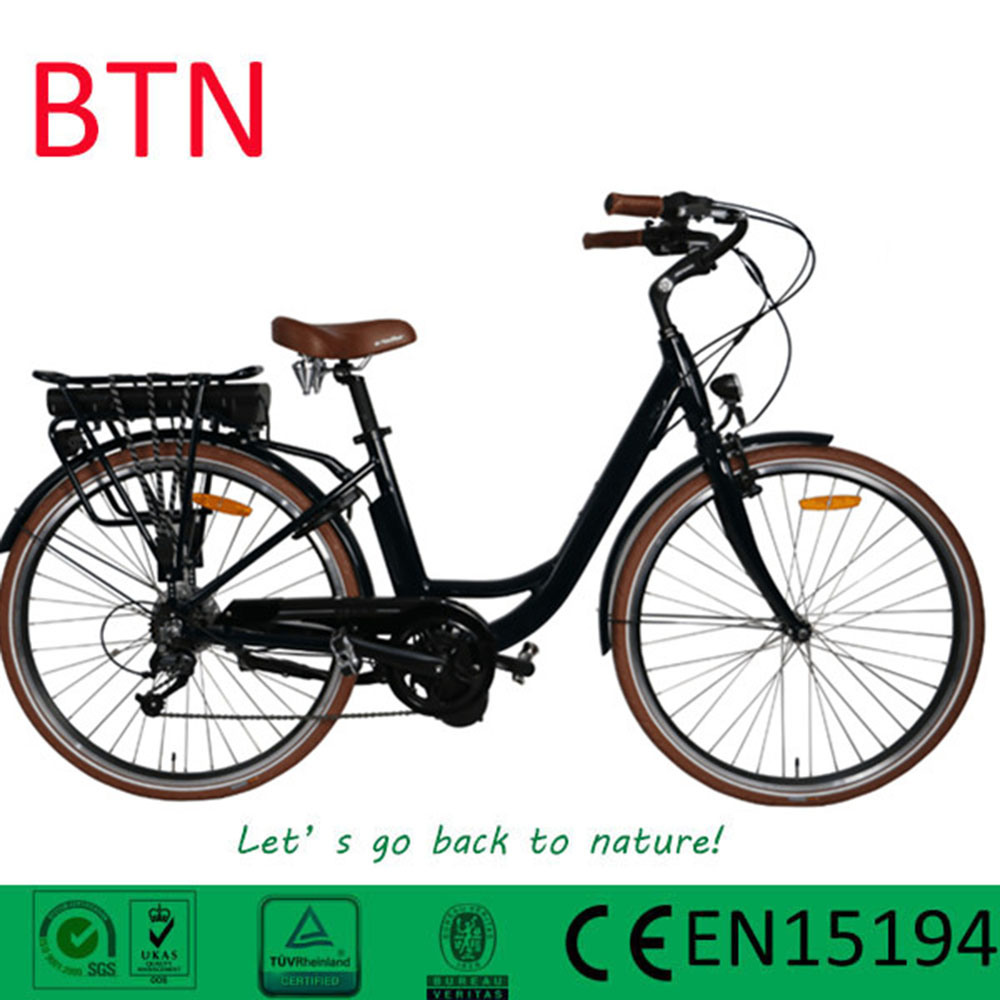 2017 Btn New Style City Ebike 250W Brushless MID Motor Electric Bike for Women