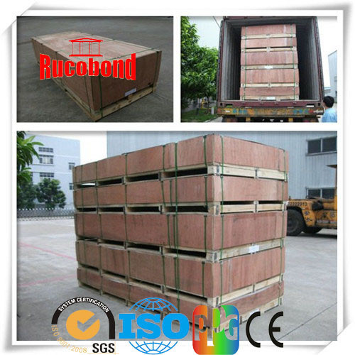 Rucobond Building Material PVDF PE Aluminum Composite Panel (RUCO15-4)