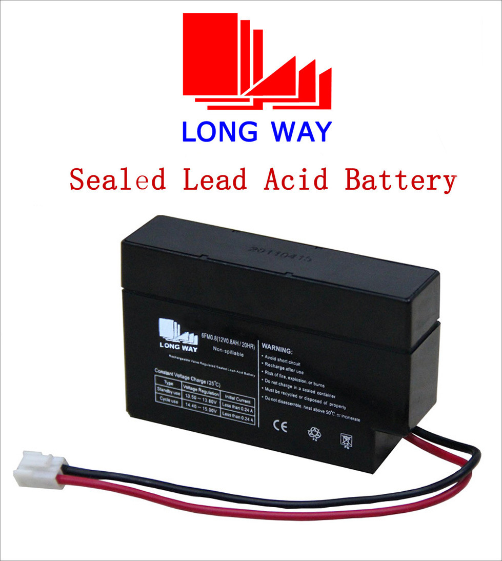 12V Toy Car Rechargeable VRLA Sealed Lead Acid Battery