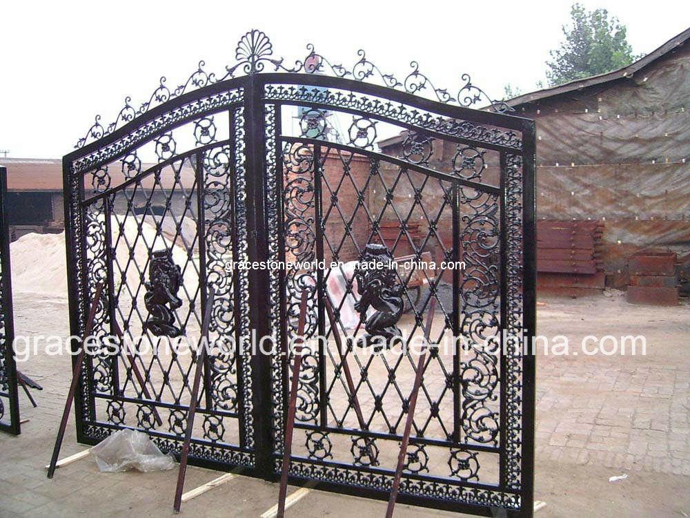 China cast iron gate casting driveway gs crf